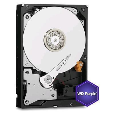 Western Digial 4tb hard drive purple