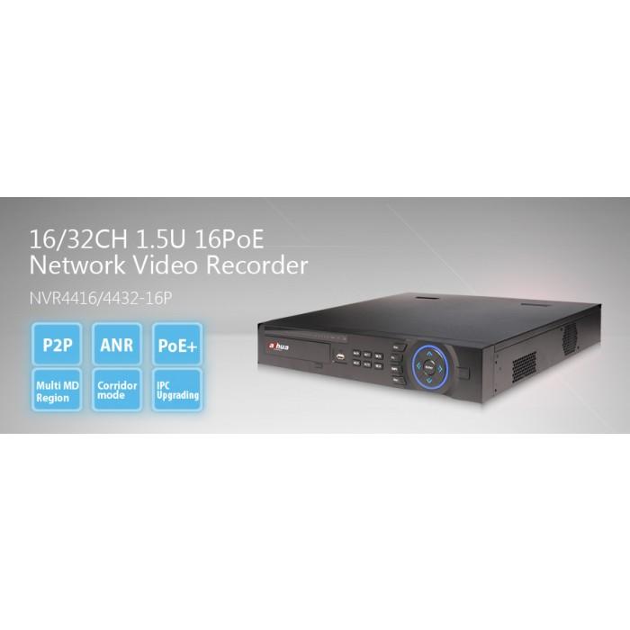 NVR4416P Dahua 16ch NVR 2TB 16xPoE