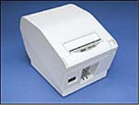 Star TSP743II Ethernet Thermal Cutter Receipt Printer ~ Grey